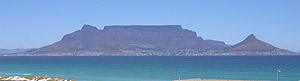 Cape Town's Table Mountain and Table Bay